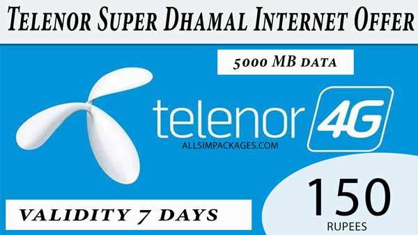 telenor super dhamal offer