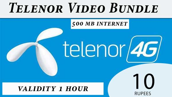 telenor video bundle