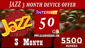 JAZZ 3 Months DEVICE OFFER