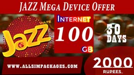 JAZZ MEGA DEVICE OFFER
