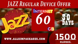 JAZZ REGULAR DEVICE OFFER
