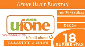 Ufone Daily Pakistan Offer