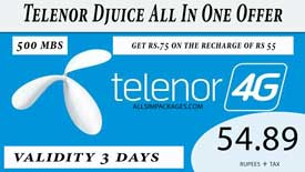 telenor djuice all in one offer