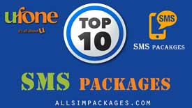 ufone top 10 sms packages